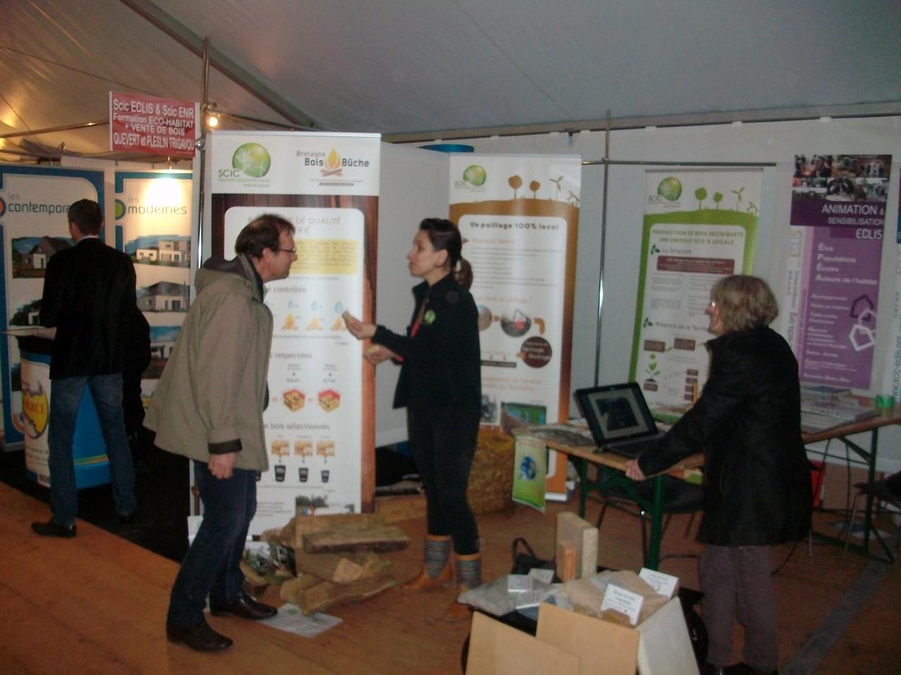 Energies renouvelables du pays de dinan les scic enr et for Salon energie renouvelable