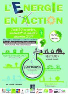 Affiche Energie en Action 2017