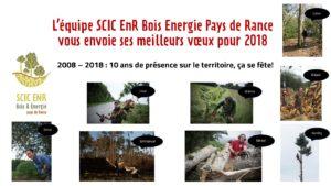L'équipe SCIC EnR Bois Energie Pays de Rance